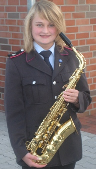 Sarah Otte (1. Altsaxophon)